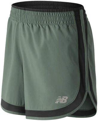 New Balance Printed Accelerate 5 In Running Shorts