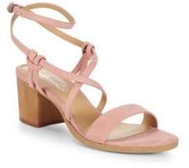 Splendid Filipa Leather Ankle-Strap Sandals