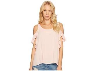 Sanctuary Lenox Top Women's Short Sleeve Pullover