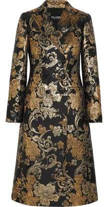 Dolce & Gabbana Double-Breasted Brocade Coat
