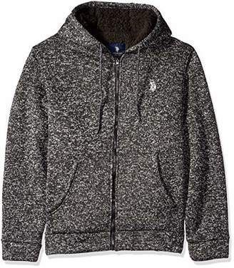 U.S. Polo Assn. Men's Bonded Sweater Fleece Hoodie