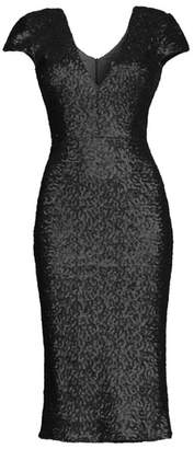 Dress the Population Allison Sequin Sheath Dress