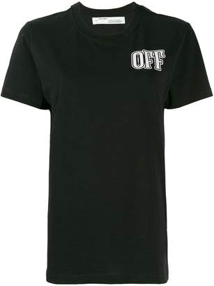 Off-White Lips printed t-shirt