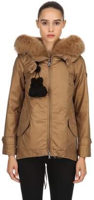 Peuterey Tse Parka Down Jacket W/ Fur
