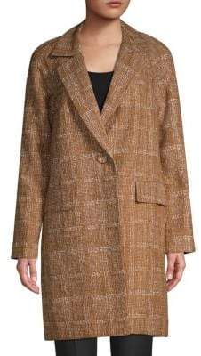 Lafayette 148 New York Lawson Textured Coat