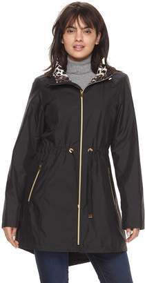 Gallery Women's Hooded Packable Rain Jacket