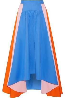 Peter Pilotto Asymmetric Cotton-Poplin Skirt
