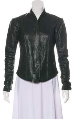 Veda Moto Leather Jacket