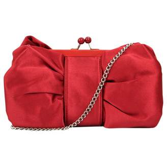 Moschino Cheap & Chic Moschino Cheap And Chic Red Polyester Clutch Bag