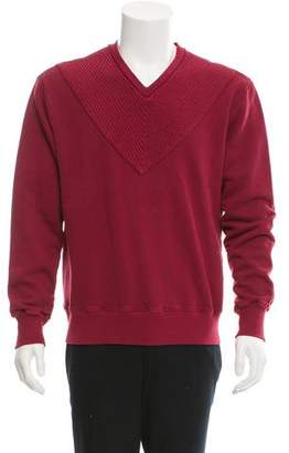Michael Bastian V-Neck Long Sleeve Sweatshirt