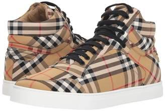 Burberry Reeth High Top Sneaker Men's Boots