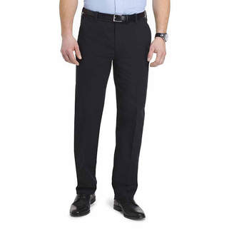 Van Heusen Non Stop Stretch Chino Mens Classic Fit Flat Front Pant