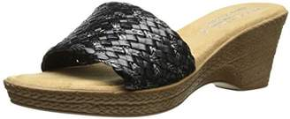 Easy Street Shoes Tuscany by Women's Perugia Wedge Sandal