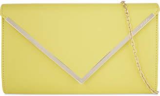 Aldo Varinaa leather envelope clutch