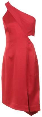 Tufi Duek asymmetric short dress