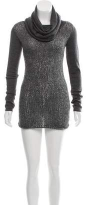 CNC Costume National Long Sleeve Knit Dress