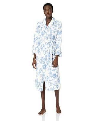 Arabella Women s Printed Floral Plush Robe b95656bf6