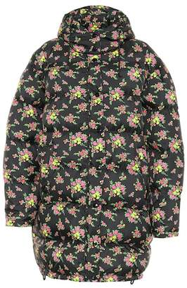 Gucci Floral down jacket