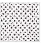 Paolo Albizzati Men's Polka Dot Silk Twill Pocket Square - White