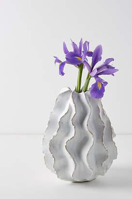 Anthropologie Ceramic Urchin Vase