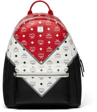 MCM Stark Backpack In Chevron Visetos