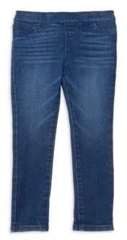 Vineyard Vines Little Girl's& Girl's Denim Leggings - Indigo - Size 2