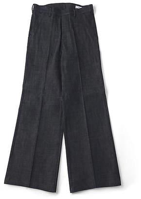 Hyke (ハイク) - [Hyke] Denim Wide-Leg Baker Pants(13097)