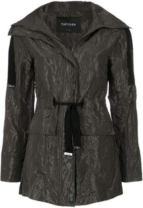 Tufi Duek drawstring waist coat