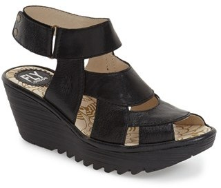 Women's Fly London 'Yair' Platform Wedge Sandal $179.95 thestylecure.com