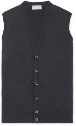 John Smedley Slim-Fit Merino Wool Sweater Vest