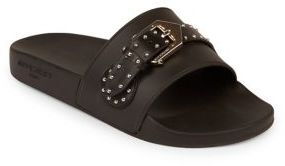 Givenchy Studded Leather Slides