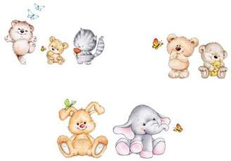 Home Decor Line Cute Animals Wall Decals