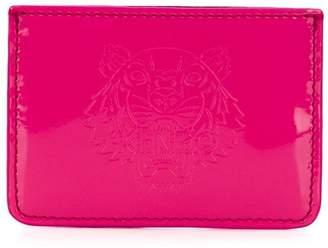 Kenzo logo embossed card holder