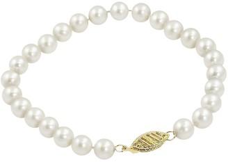 Pearlustre By Imperial PearLustre by Imperial 10k Gold Freshwater Cultured Pearl Bracelet - 7.5-in.