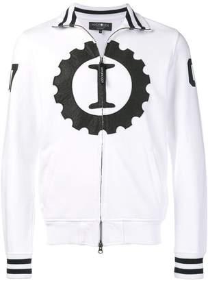 Hydrogen contrast logo jacket