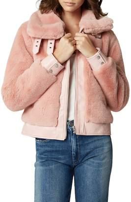 Blank NYC BLANKNYC Faux Fur Jacket