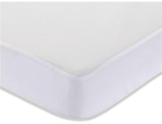 L.A. Baby Breathe-Safe Fabric on Waterproof Mattress Cover for Full Size Crib