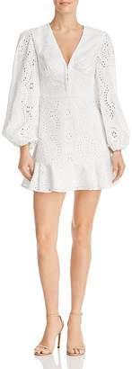 Keepsake Harmony Eyelet Mini Dress