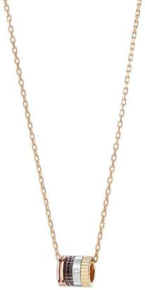 Boucheron Mixed Gold and Diamond Quatre Classique Ring-Pendant Necklace