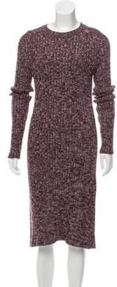 Calvin Klein Medium-Weight Wool Sweater Dress w/ Tags grey Medium-Weight Wool Sweater Dress w/ Tags