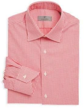 Canali Gingham Cotton Dress Shirt
