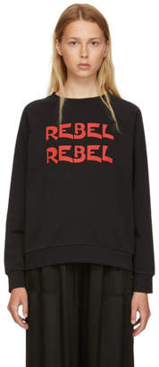 6397 Black Rebel Rebel Graphic Sweatshirt
