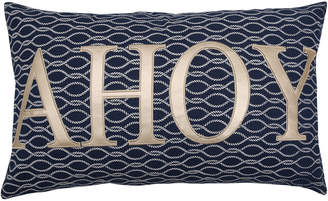 Triangle Home Fashions Ahoy Rope Knot Decorative Pillow