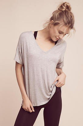 Beyond Yoga Michelle V-Neck Tee $66 thestylecure.com