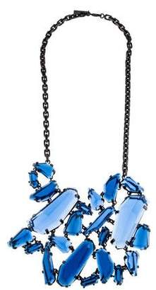 Burberry Geometric Collar Necklace