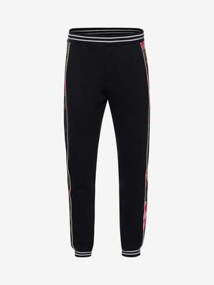 Alexander McQueen Painted Rose Sweatpants