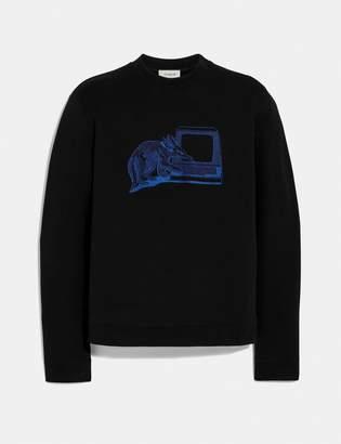 Coach Printed Sweatshirt