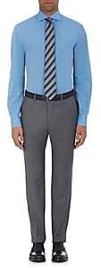 Isaia Men's Cotton-Linen Shirt - Blue