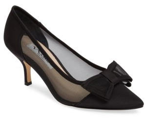 Women's Nina Bianca Pointy Toe Pump $88.95 thestylecure.com