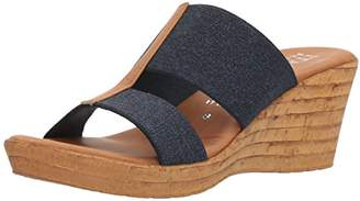 Italian Shoemakers Women's Golden Wedge Sandal